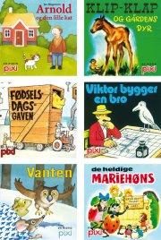 pixi-serie 124 - 6 klassiske historier - bog