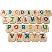 plantoys - braille-alfabetet a-z - Diverse