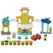 play doh - town 3 in 1 town center (b5868) - Kreativitet