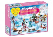 playmobil julekalender / pakkekalender - kongelig skøjteudflugt - Playmobil