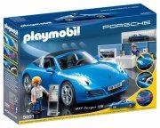 playmobil - porsche 911 targa 4s  - Playmobil