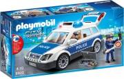 playmobil - politibil med lyd og lys - Playmobil