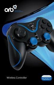 playstation 3 - bluetooth controller - orb - Konsoller Og Tilbehør