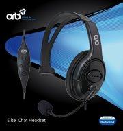 orb headset / høretelefoner til playstation 3 / ps3 - elite chat headset - Konsoller Og Tilbehør