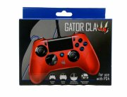 ps4 / playstation 4 controller - kablet - gator claw - rød - Konsoller Og Tilbehør