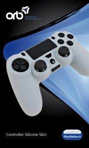 playstation 4 controller skin - orb - hvid - Konsoller Og Tilbehør