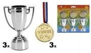 pokal og medalje sæt - Diverse