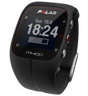polar m400 løbeur - gps ur inkl h7 hrm pulsbælte - sort - Sportsudstyr