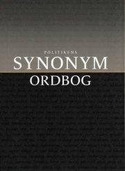 politikens synonymordbog - bog