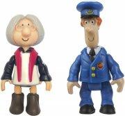 postman pat - double figure pack - pat and mrs goggins  - Figurer