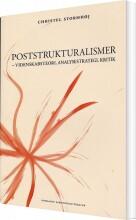 poststrukturalismer - bog