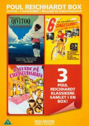 6 dagesløbet // ballade på christianshavn // qivitoq - poul reichardt boks - DVD