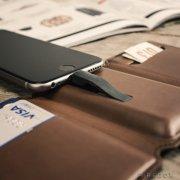 seyvr power wallet / pung med powerbank - brun - Gadgets