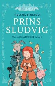 prins sludvig og medaljonens gåde - bog
