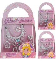 prinsesse smykkesæt taske 2ass - Udklædning