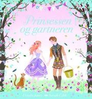 prinsessen og gartneren - bog