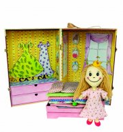 prinsessen på ærten - doll box - Dukker