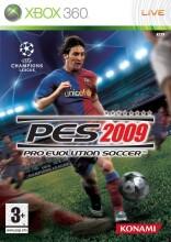 pro evolution 09 - xbox 360