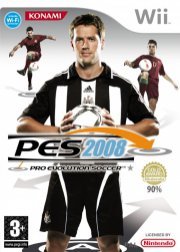 pro evolution soccer 08 (uk) - wii