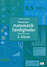 prøvesæt i matematikfærdigheder, 5.kl - bog