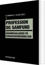 profession og samfund - bog