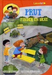 prut finder en skat - det hemmelige firkløver - bog
