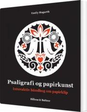 psaligrafi og papirkunst - bog