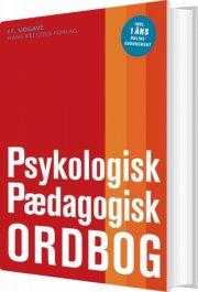 psykologisk-pædagogisk ordbog - bog