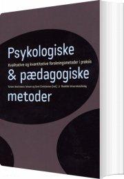 psykologiske og pædagogiske metoder - bog
