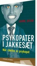 psykopater i jakkesæt - bog