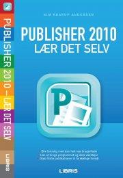 publisher 2010 - lær det selv - bog