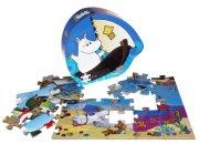 mumi og havet puslespil - 36 brikker, fra 4 år - Brætspil