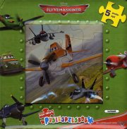 puslespilsbog - planes / flyvemaskiner - bog