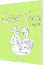 quiet please - vi tegner for kids - bog