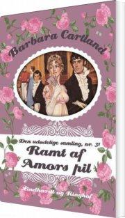 ramt af amors pil - bog