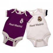 real madrid merchandise - bodystocking til baby - 0-3 mdr - Merchandise