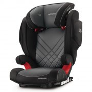 recaro monza nova 2 seatfix autostol - graphite - Babyudstyr