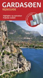 rejseguide med kort - gardasøen - bog