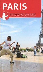 rejseguide med kort - paris - bog