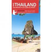 rejseguide med kort - sydthailand - bog