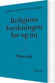 religionsforskningen før og nu - bog