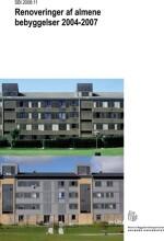 renoveringer af almene bebyggelser 2004-2007 - bog