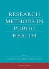 research methods in public health - bog