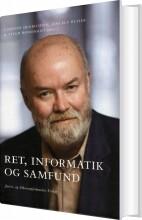 Carsten Henrichsen - Ret, Informatik Og Samfund - Bog