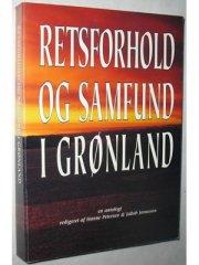 retsforhold og samfund i grønland - bog