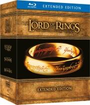ringenes herre 1-3 extended - eventyret om ringen // de to tårne // kongen vender tilbage - Blu-Ray