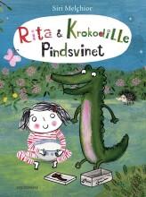 rita og krokodille - pindsvinet - bog
