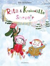 rita og krokodille - snevejr - bog