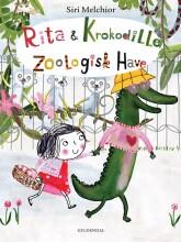 rita og krokodille - zoologisk have - bog