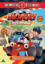 rorri racerbil - skattejagten - DVD